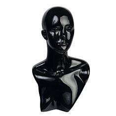 """Манекен """"Голова"""" , 47 см, черный."""
